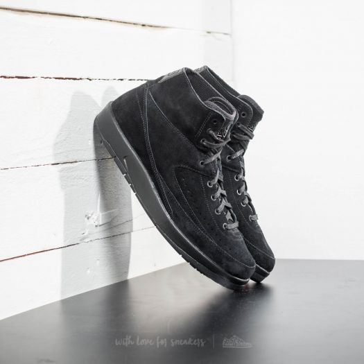 save off 51f92 b1b4d Air Jordan 2 Retro Decon Black/ Black | Footshop