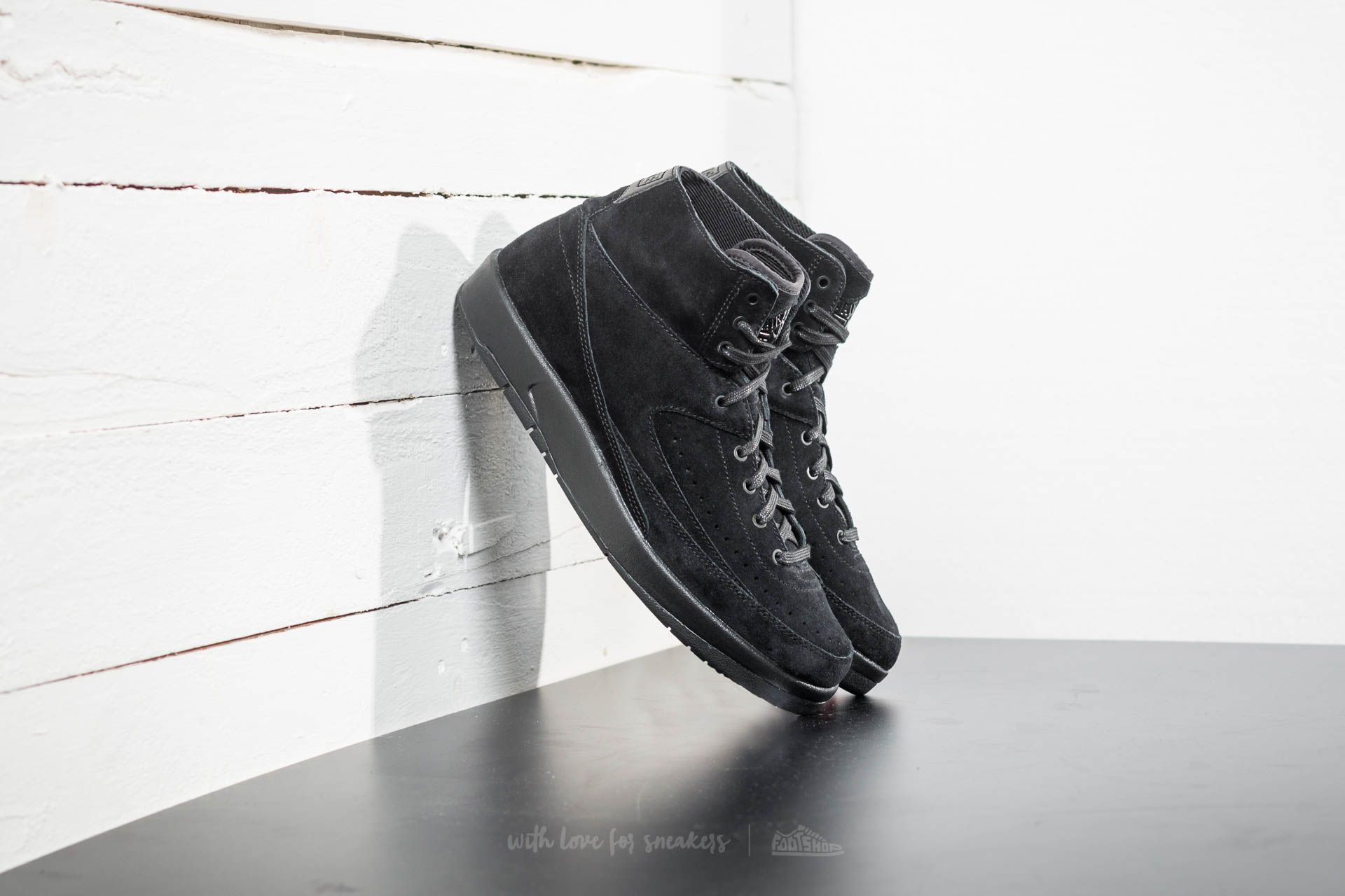 69953fe389d858 Air Jordan 2 Retro Decon Black  Black