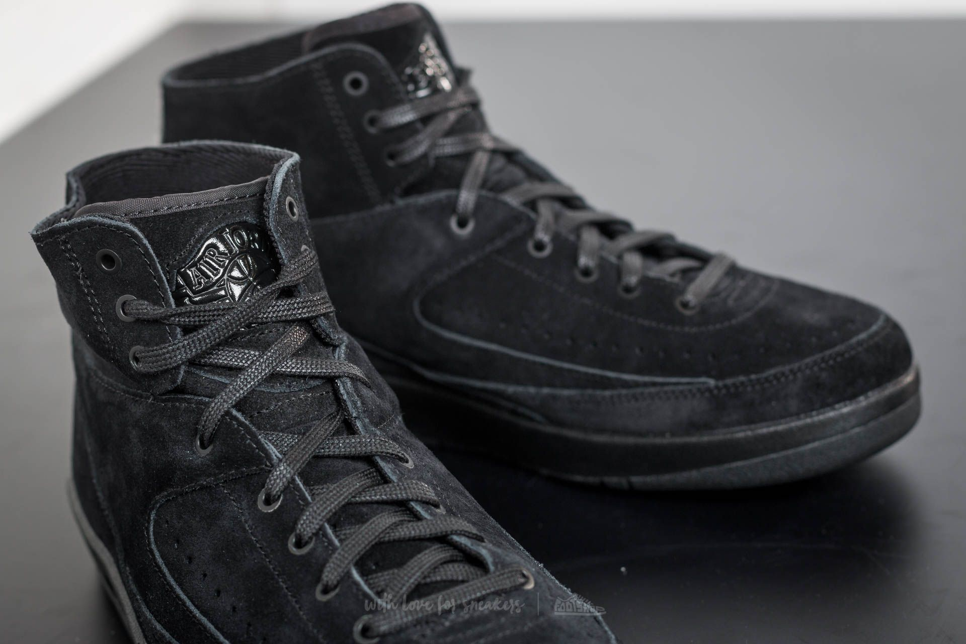 save off abbe5 ac6b0 Air Jordan 2 Retro Decon Black/ Black | Footshop
