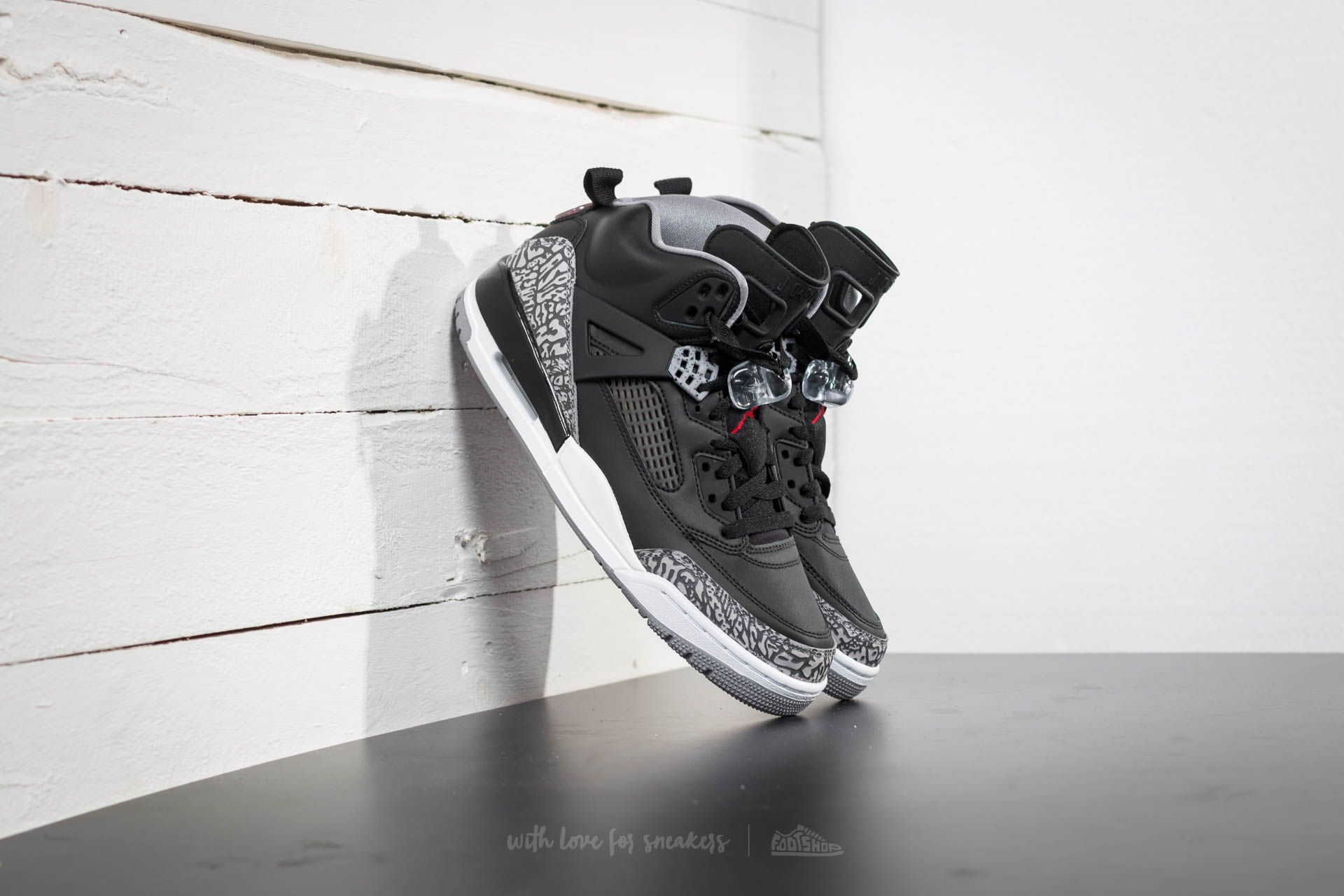 afa74643d169 Jordan Spizike Black  Varsity Red-Cement Grey