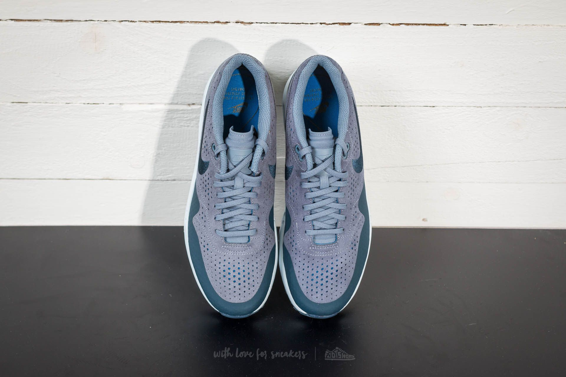 Nike Air Max 1 Ultra 2.0 Moire Trainer Armory Blue