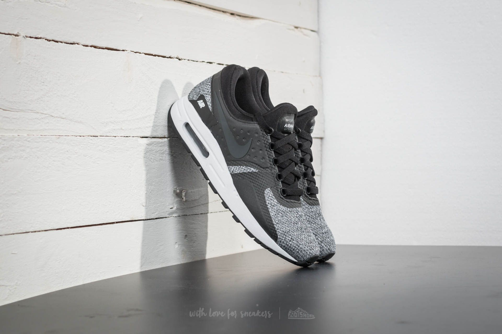 super popular 828cc ec4fb Nike Air Max Zero SE (GS). Black  Anthracite-White-White