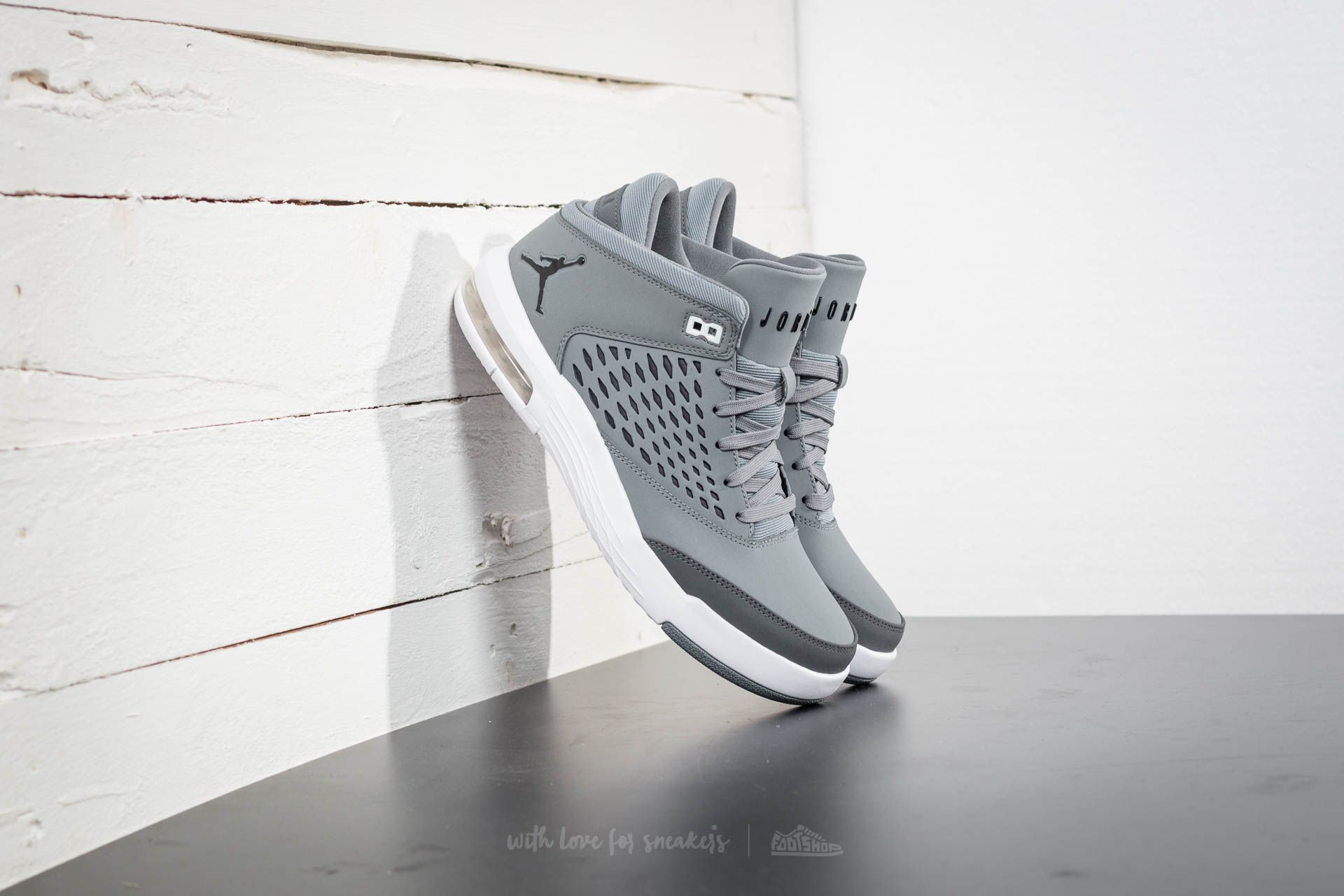 huge discount c94e8 ccd48 Jordan Flight Origin 4 Cool Grey/ Black-Dark Grey | Footshop