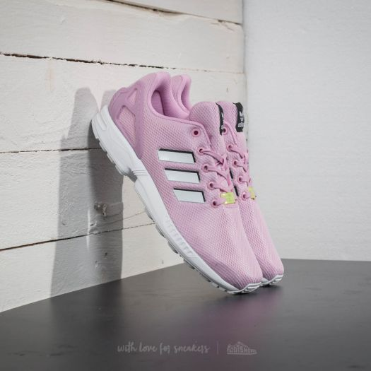 timeless design 0effb 4e8b0 adidas ZX Flux J Frost Pink/ Ftw White/ Ftw White | Footshop