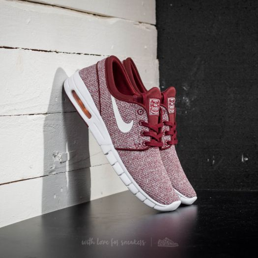 Nike Stefan Janoski Max Dark Team Red White | Footshop
