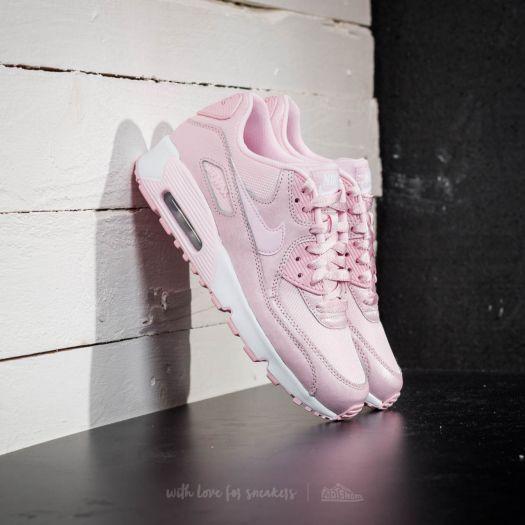 Nike Air Max 90 SE Mesh (GS) Prism Pink  Prism Pink-White  efd3bada6