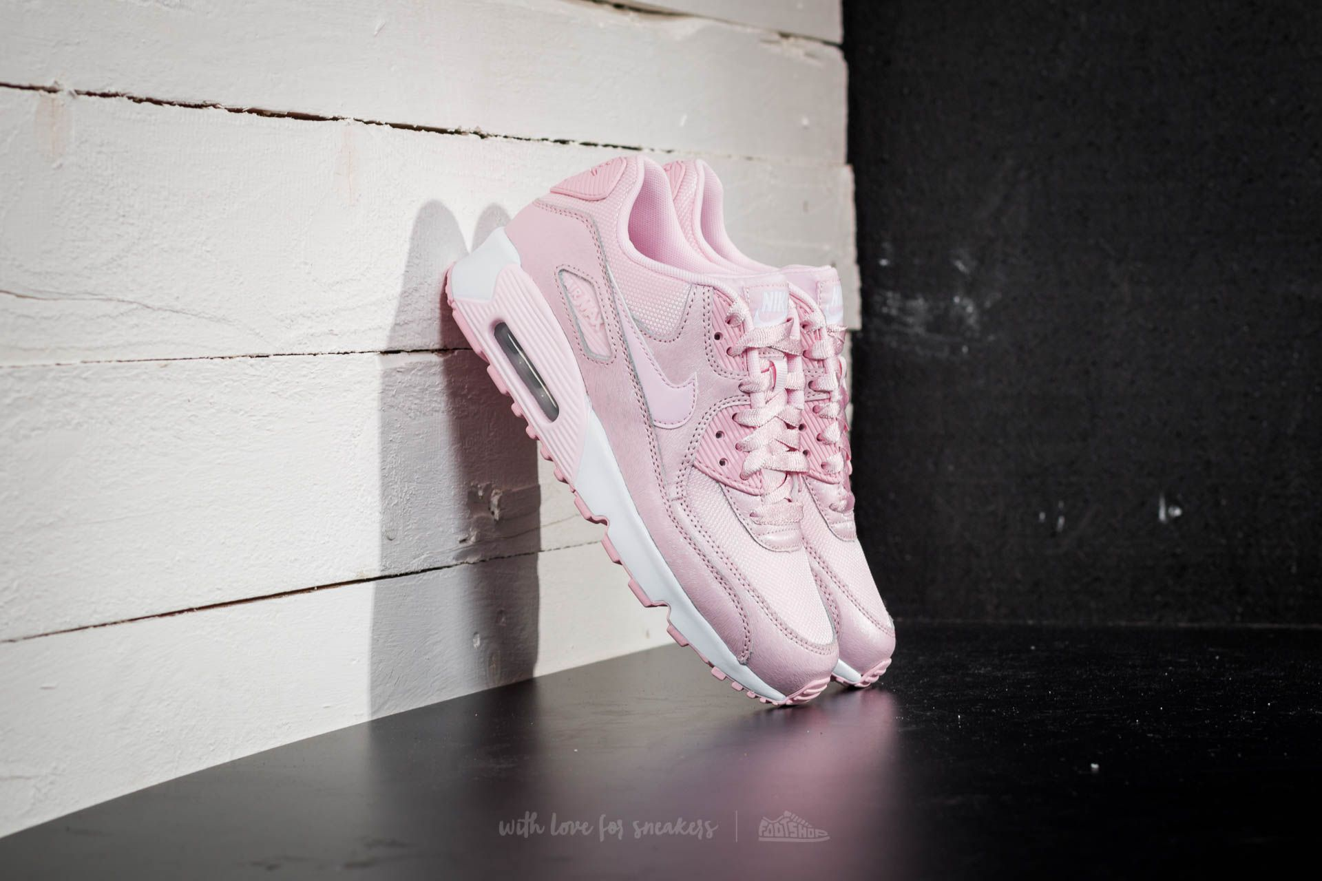 new styles a4daf 64b45 Nike Air Max 90 SE Mesh (GS) Prism Pink/ Prism Pink-White | Footshop