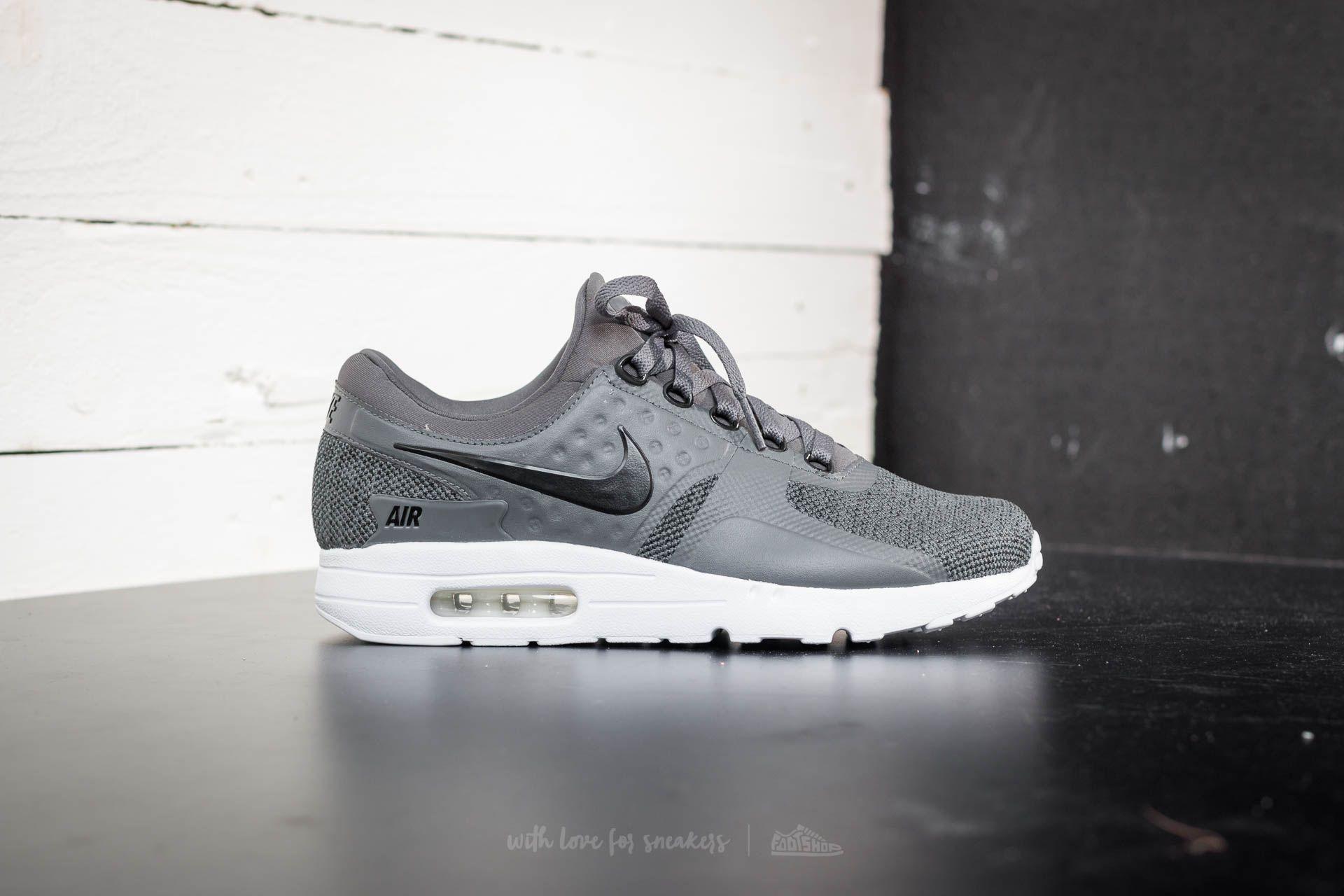 a8c653b7dd86b Nike Air Max Zero SE Black/ Dark Grey-White | Footshop