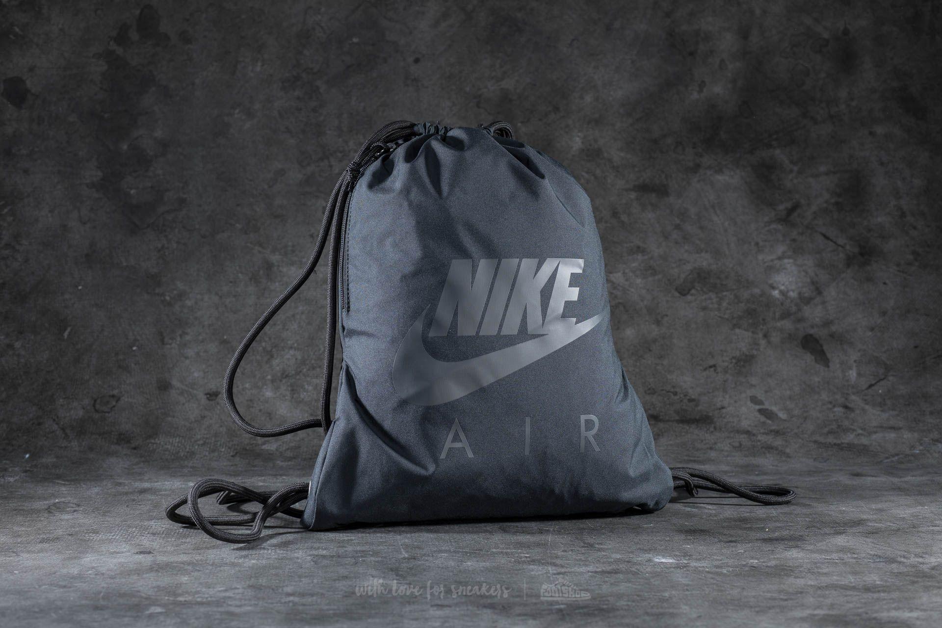 Nike Heritage 1 GFX Gymsack Black  a67f66d8b1d85