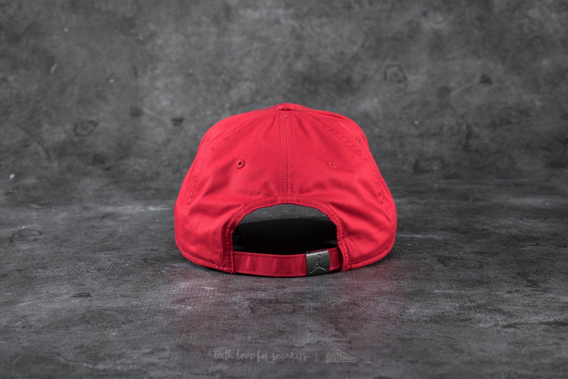 c3b4000a85d Jordan CLC99 Metal Jumpman Cap Red at a great price 29 € bestell bei  Footshop