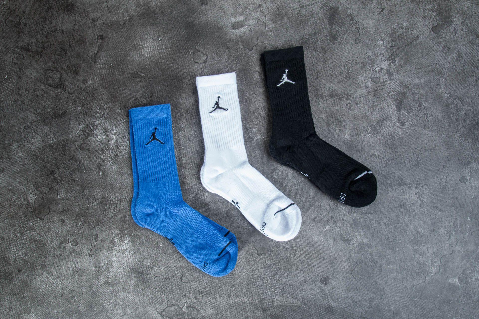 wholesale dealer 222c5 00a0c Jordan Jumpman 3 Pack Crew Socks