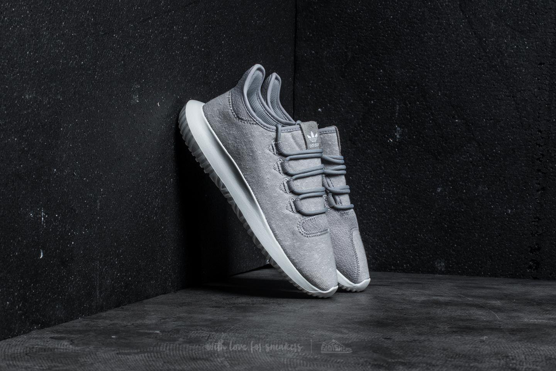 adidas Tubular Shadow J Grey Two Crystal White Crystal White   Footshop
