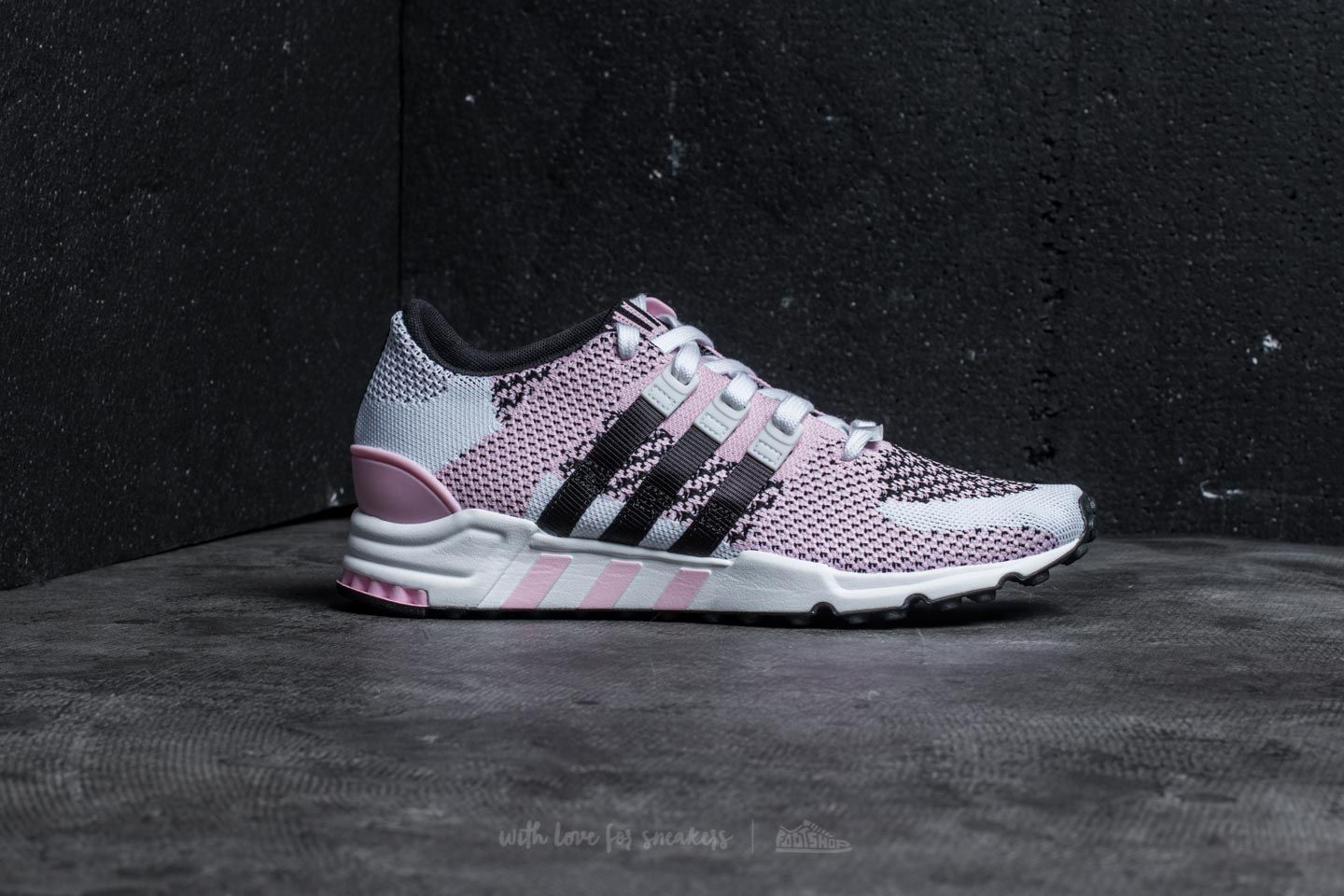 new concept ccbe3 fa499 adidas Equipment Support RF Primeknit Wonder Pink Core Black Footwear  White at a great