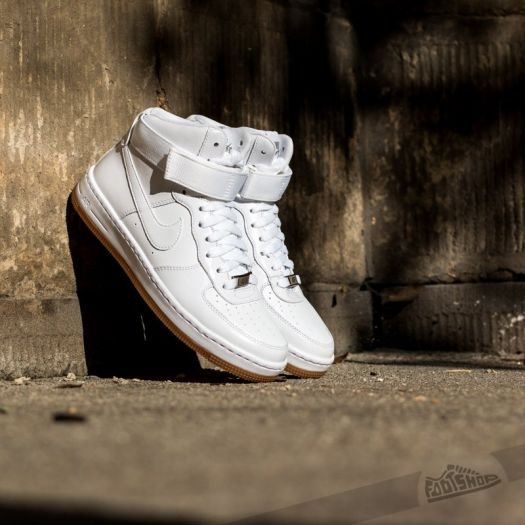 sneakers for cheap b2948 e0214 Nike WMNS Air Force 1 Ultra Force Mid White/White-Hyper ...