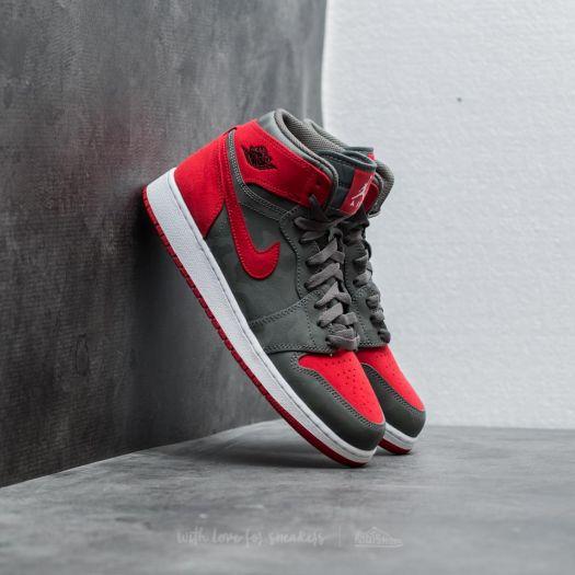 wysoka jakość fabrycznie autentyczne uważaj na Air Jordan 1 Retro Hi Premium BG River Rock/ Black | Footshop