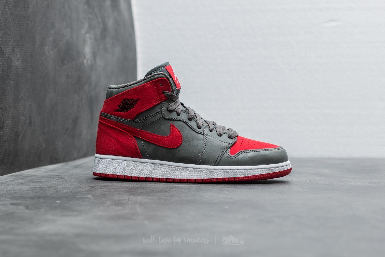 newest collection quality design factory outlet Air Jordan 1 Retro Hi Premium BG River Rock/ Black | Footshop
