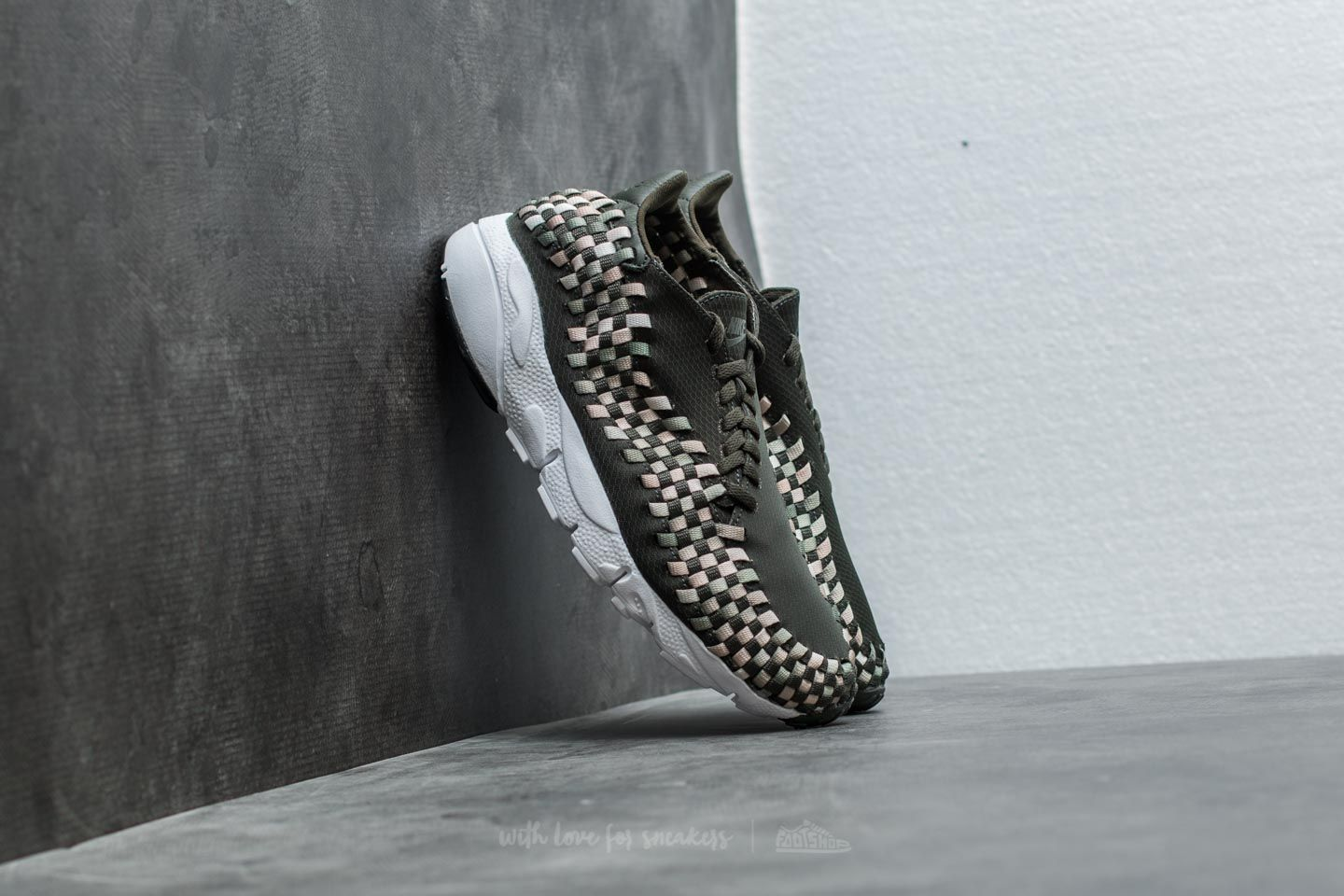 Nike Air Footscape Woven Black Lifestyle Shoes For Women