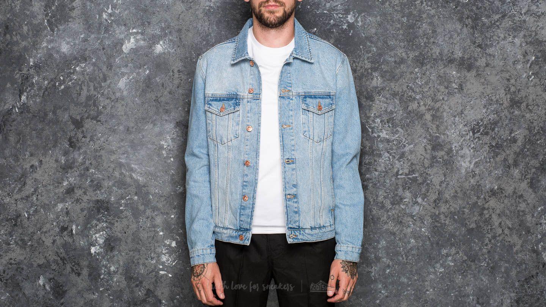 Soulland Shelton Denim Jacket Light Blue za skvělou cenu 2 490 Kč koupíte na Footshop.cz