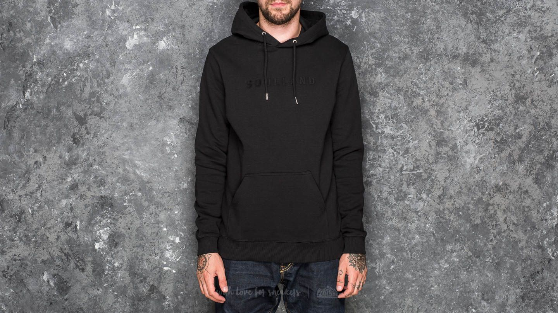 Soulland Guy Hooded Sweat Black za skvělou cenu 1 516 Kč koupíte na Footshop.cz