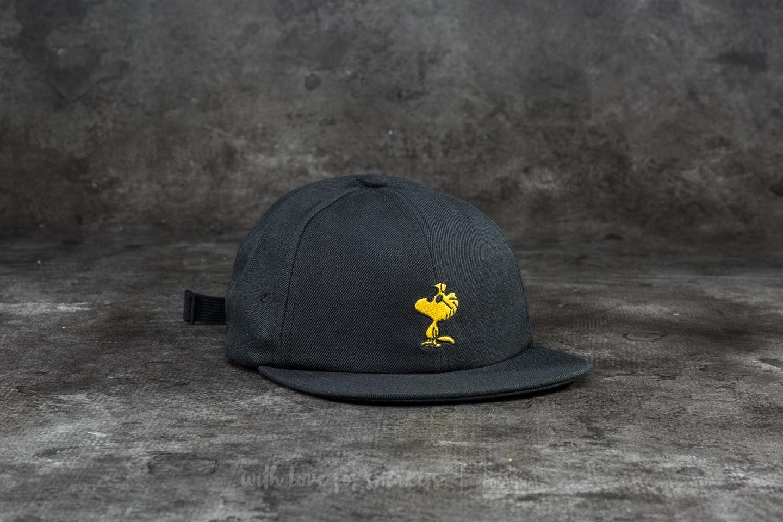 e1aad8b39eada Vans x Peanuts Jockey Cap Woodstock  Black
