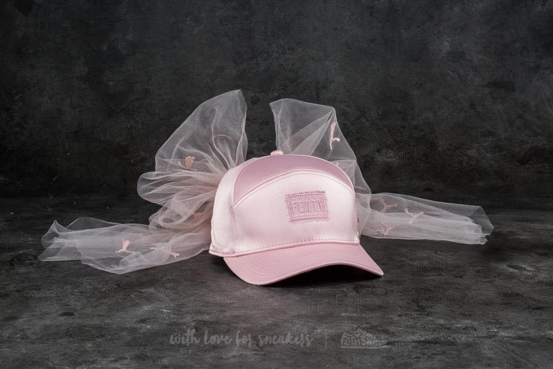 Puma Fenty x Rihanna Bow Mesh Cap Silver Pink  4b209d62ef5