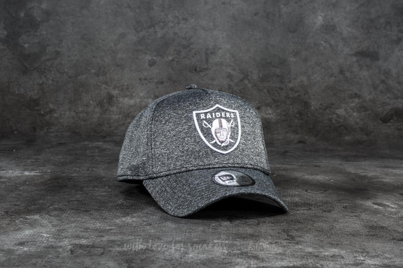 8b3b2df8aa8a5 New Era 9Forty Jersey Tech Aframe Oakland Raiders Cap Grey Heather  White