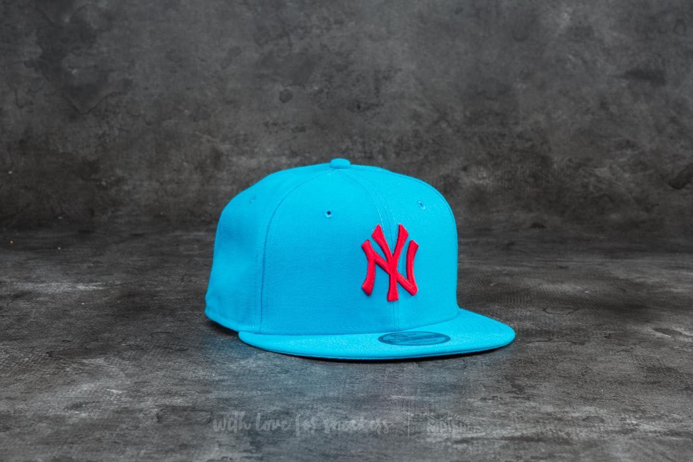 New Era 9Fifty League Essential New York Yankees Cap Blue  Red ... 476c9e92b5a