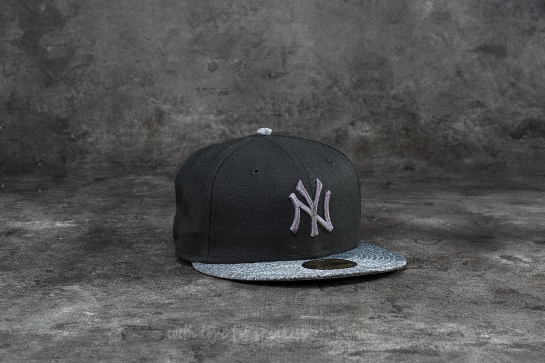 New Era 59Fifty Grey Collection New York Yankees Cap Black/ Grey Heather