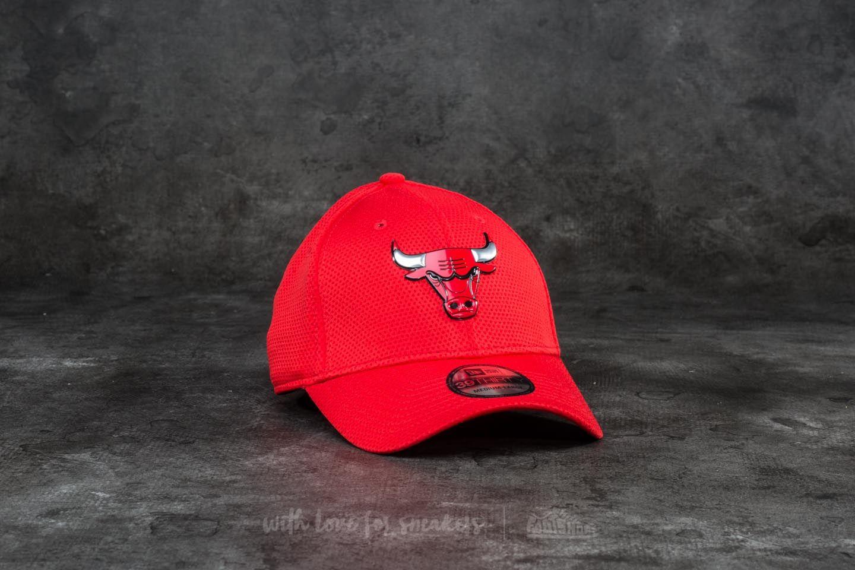 New Era 39Thirty Logo Pack Chicago Bulls Cap Scarlet