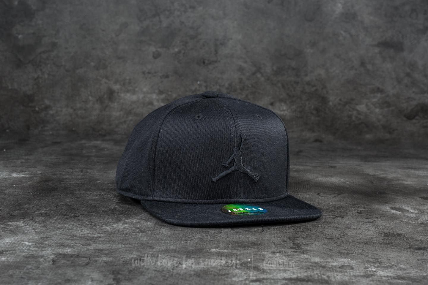 Jordan Jumpman Snapback Black  7bb56644939