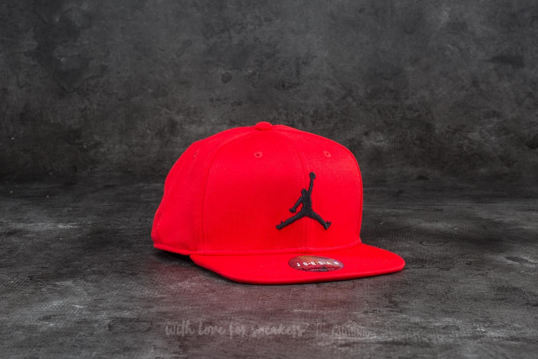 Jordan Jumpman Snapback University Red  Black  d2250bc9afe