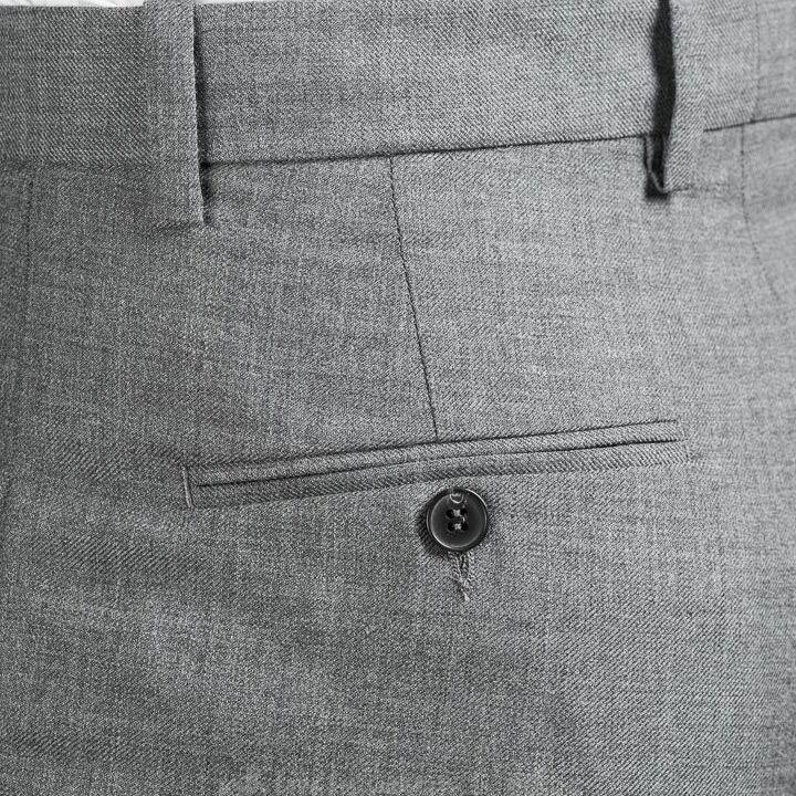 WOOD WOOD Surrey Trousers Grey Melange, Gray