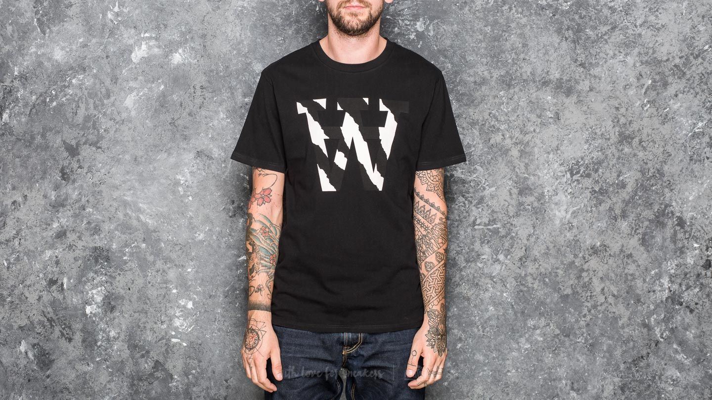 WOOD WOOD AA Two Tones T-Shirt