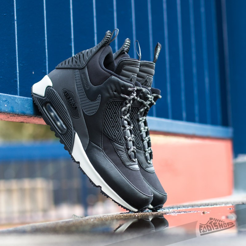 Nike Air Max 90 Sneakerboot Winter Black Black  89c779611