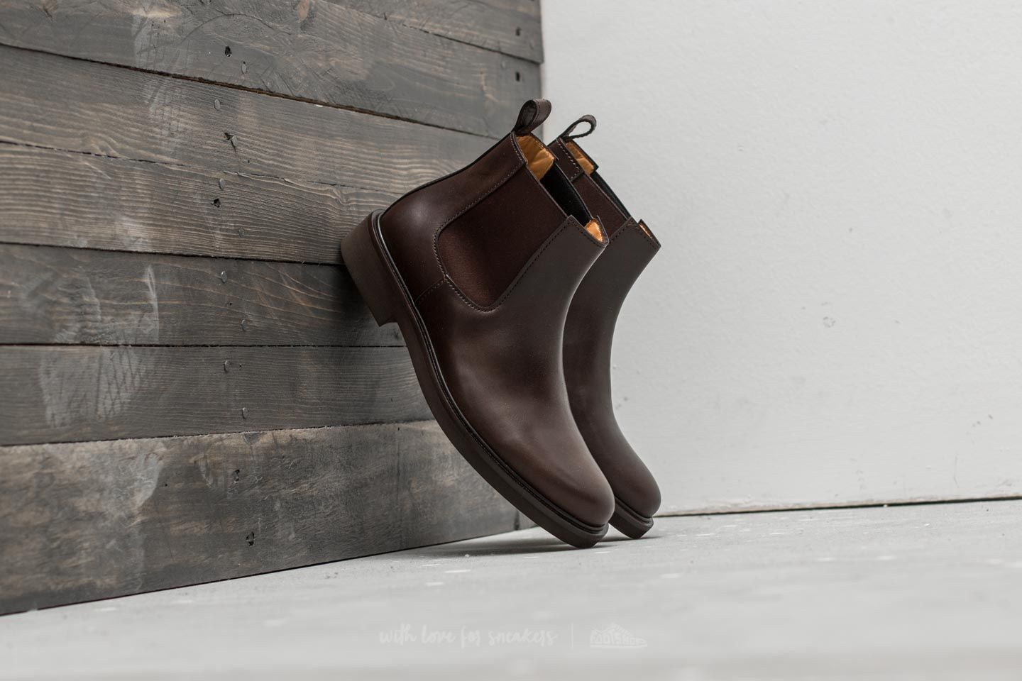 A.P.C. Boots Simeon Cae Marron Fonce at a great price 168 € buy at Footshop