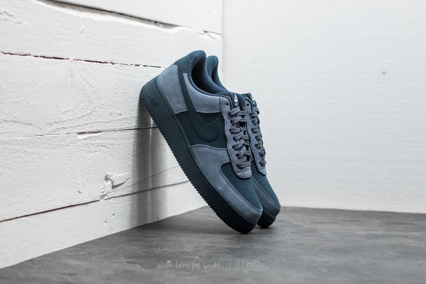 Men's shoes Nike Air Force 1 Armory Blue/ Armory Navy-White