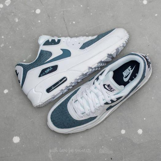 Nike Air Max 90 Essential White Armory Blue Armory Blue | Footshop