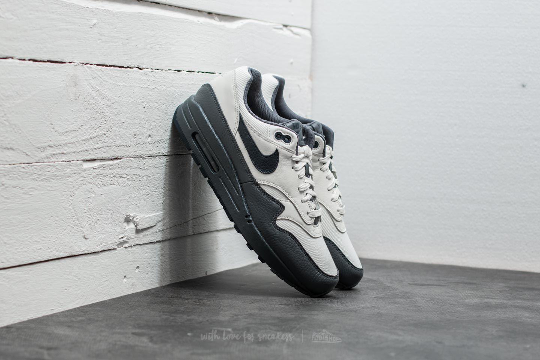 cheaper 4aaf1 03c8a Nike Air Max 1 Premium. Sail  Dark Obsidian-Dark Grey