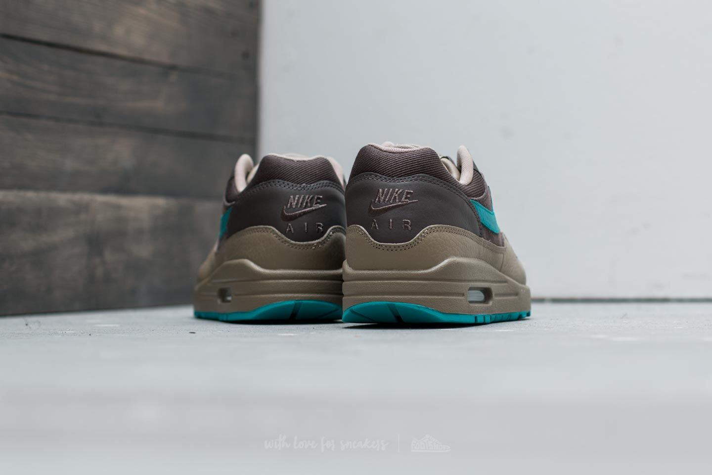 Nike Air Max 1 Premium Ridgerock Turbo Green Khaki Ceneo.pl