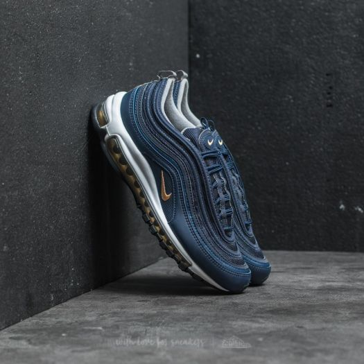 size 40 911e6 c45f9 Nike Air Max 97 Midnight Navy/ Metallic Gold | Footshop