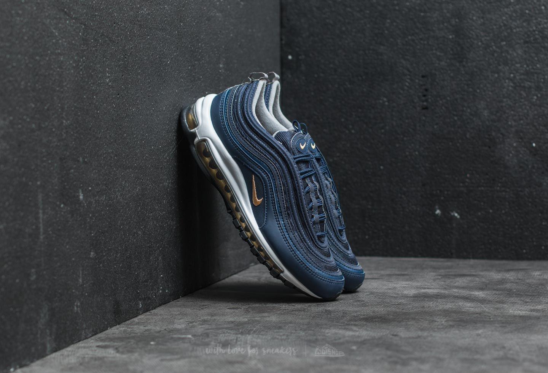 8e63d91757 Nike Air Max 97 Midnight Navy/ Metallic Gold | Footshop