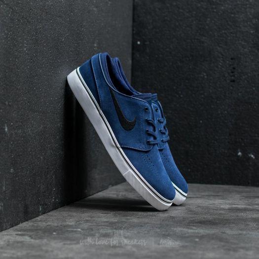 Laboratorio helicóptero Complicado  Men's shoes Nike Zoom Stefan Janoski Binary Blue/ Black | Footshop