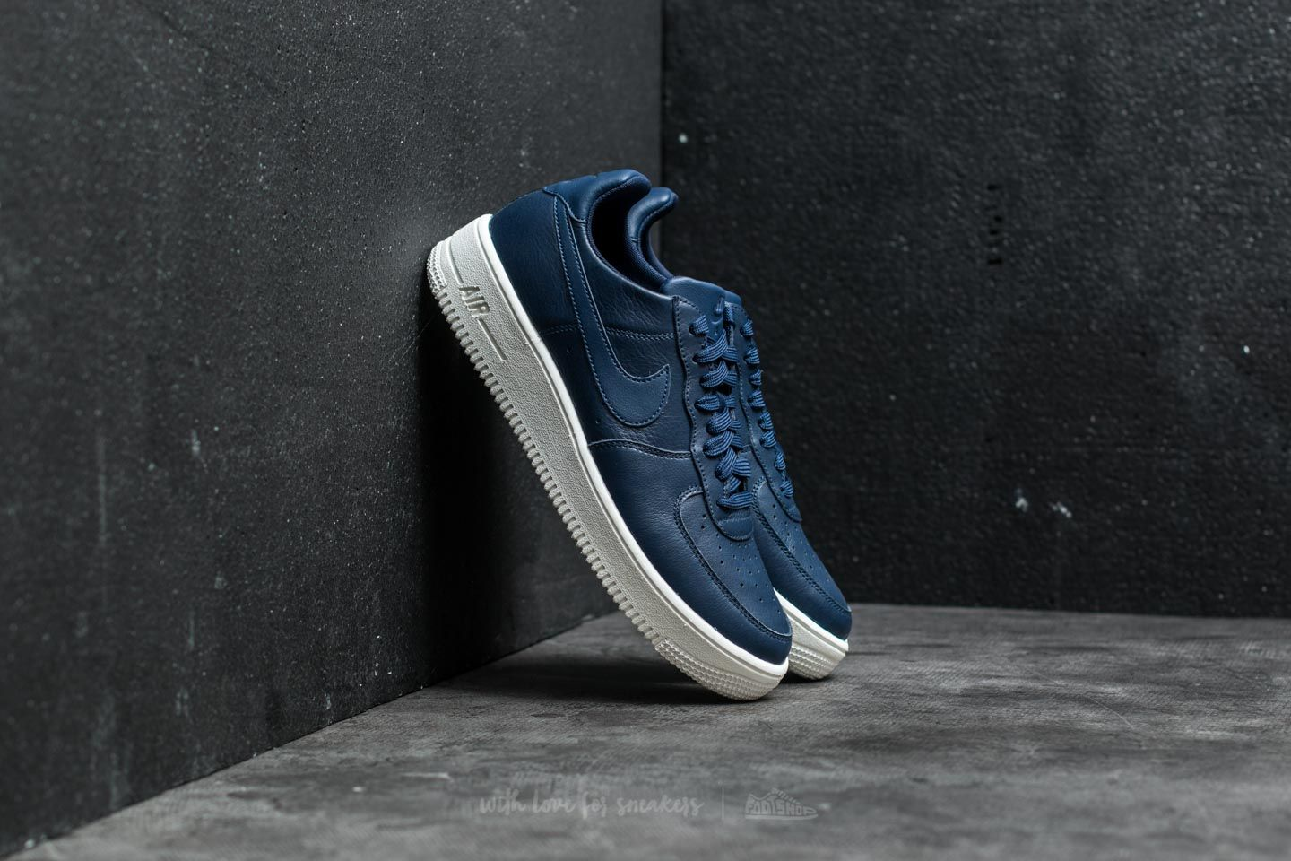 35c54b657a Nike Air Force 1 Ultraforce Leather Midnight Navy  Midnight Navy ...