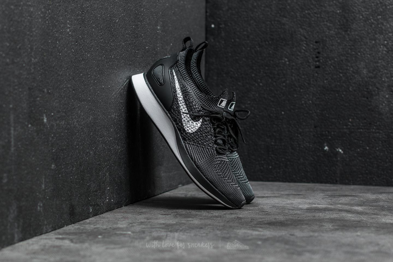 981c251c1ad281 Nike W Air Zoom Mariah Flyknit Racer Premium. Black  White-Dark Grey