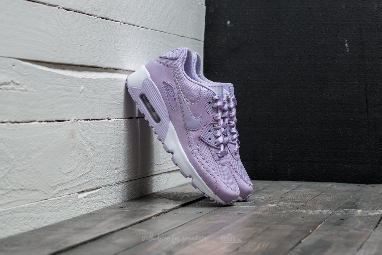 best service 4f4c1 e0aa0 Nike Air Max 90 SE Mesh (GS) Violet Mist  Violet Mist-White