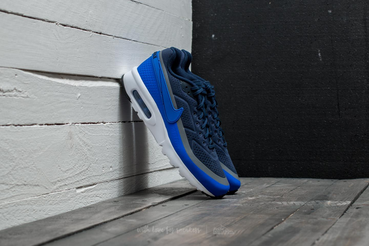 9f6641e9b1c4ef Nike Air Max BW Ultra Moire Midnight Navy  Racer Blue