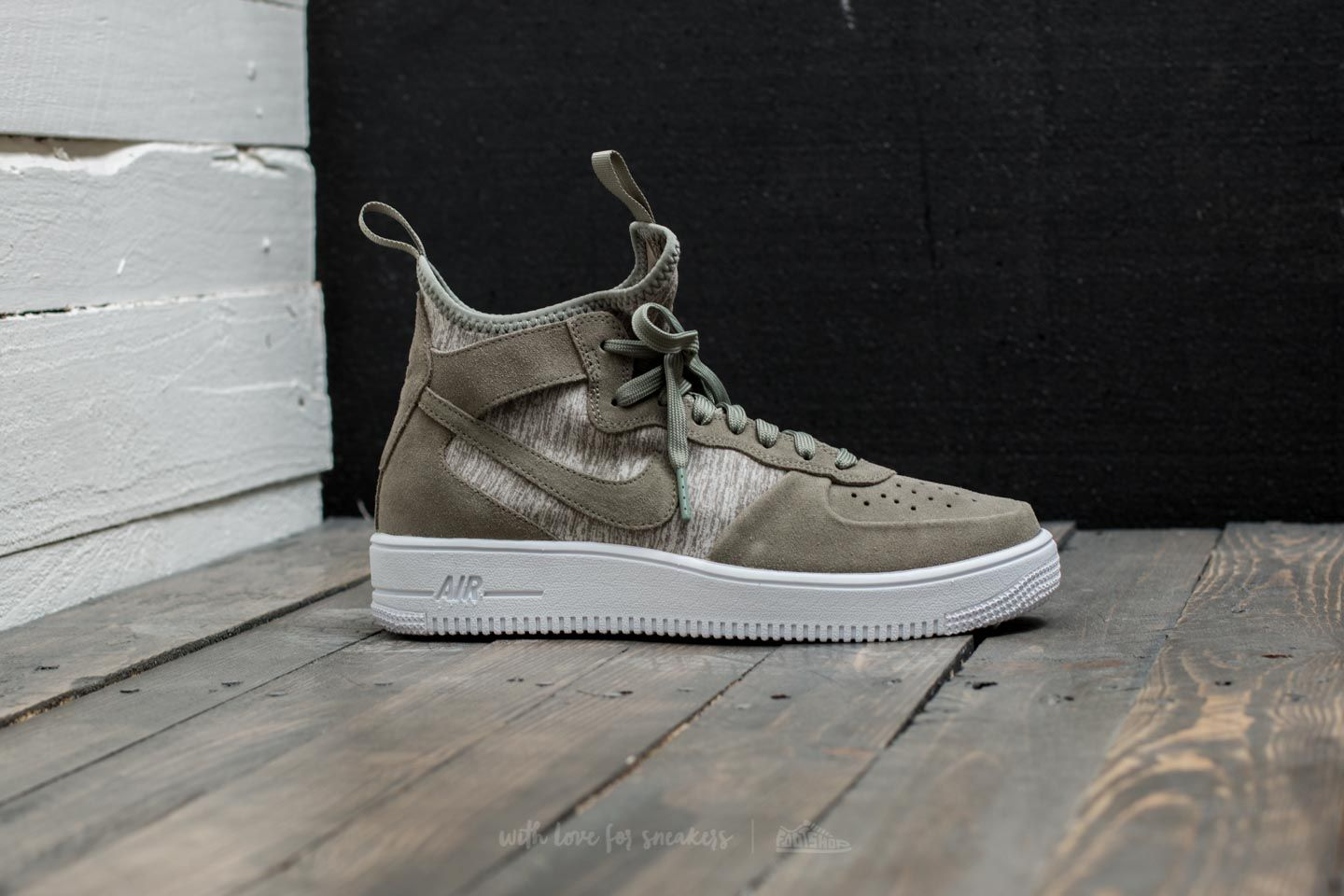 1 Air Mid Stucco Force Nike Ultraforce Premium Dark Y7gyvb6fI