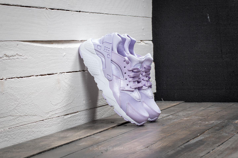 Nike Huarache Run SE (GS) Violet Mist  Violet Mist-White  47ea8178a