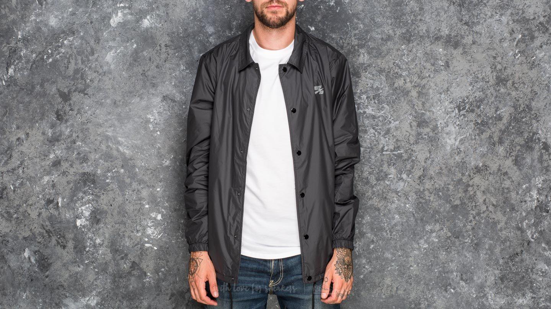d227b5becfbd Nike SB Shield Coach Jacket Black  Cool Grey