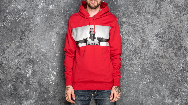 78ab15b85a27 Jordan Sportswear Legend Flight Lite Pullover Hoodie Gym Red ...
